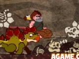 flash игра Caveman Climb