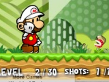 flash игра Mario Fire Bounce