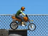 flash игра Construction Yard Bike