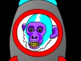 flash игра Rock & Roll Space Monkey