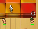flash игра Bunny Flags 2