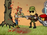 flash игра Mass mayhem zombie