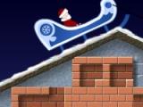 flash игра Santa's chimney trouble
