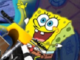 flash игра Spongebob Bike 3D