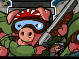 flash игра Kamikaze Pigs