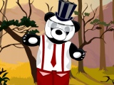 flash игра Panda Dress Up Game