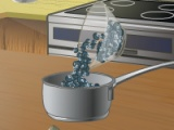 flash игра Cooking Blueberry Cream Pie