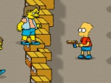 flash игра Bart Simpson Defense