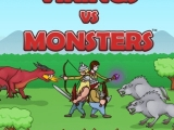 flash игра Vikings vs Monsters