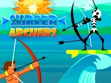 flash игра Surfer Archers