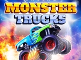 flash игра Racing Monster Trucks