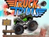 Flash игра для девочек Truck Trials